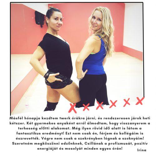 Twerk táncórák